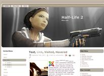 Шаблон Half-Life