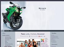 Шаблон сайта посвященного мотоциклам