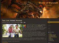 Шаблон World of Warcraft