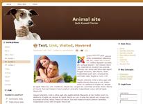 Сайт для собаководов