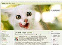 Шаблон - Сайт о котятах