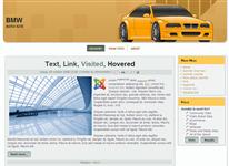 Шаблон - Автомобильный сайт