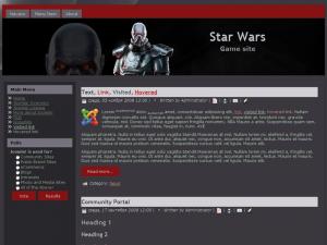 Шаблон - Звездные войны