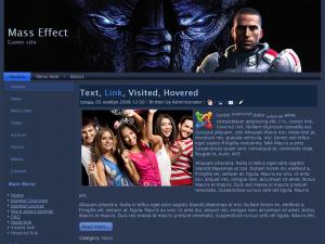 Шаблон Mass Effect